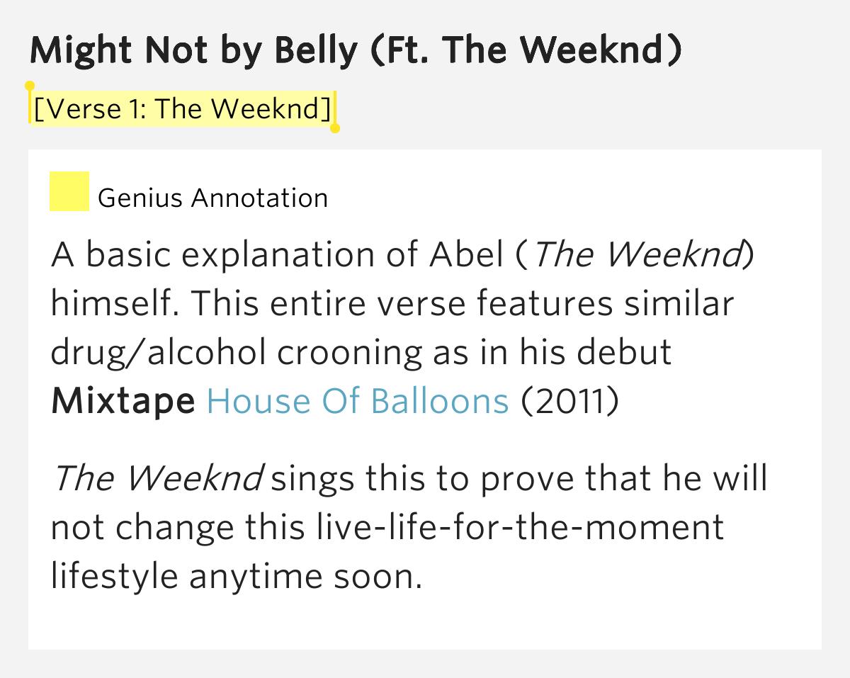 House Of Balloons Mixtape