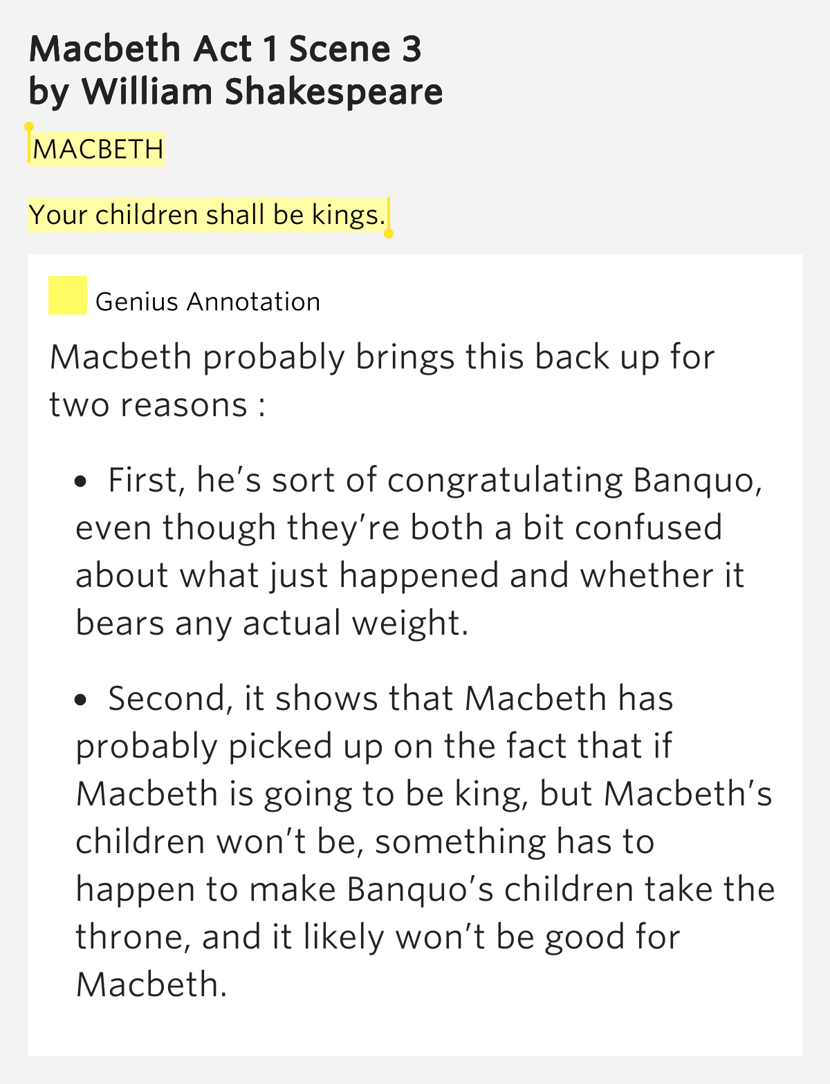 macbeth where events are shaped by ambition and madness essay Why does he delay in seeking it 51 essay 10: though this be madness,  life that shaped his  deception ambition macbeth a tragedy by william.