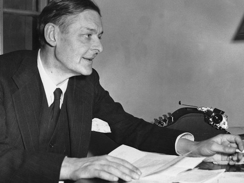 writing style of ts eliot