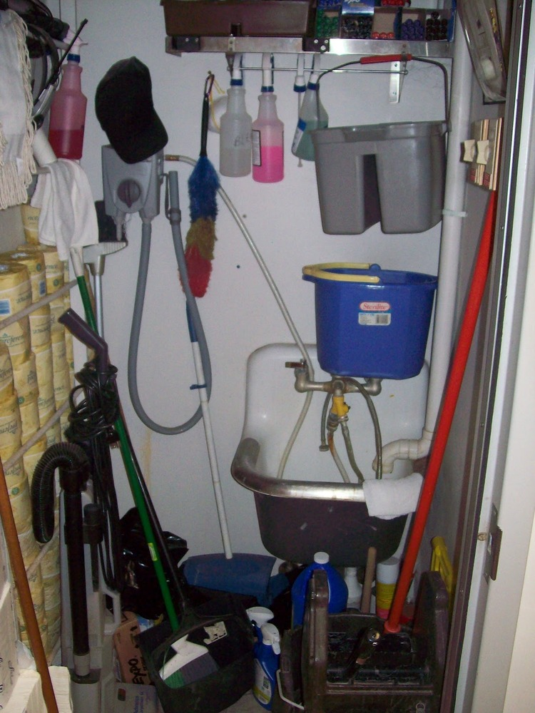 Chic The Janitor Closet Roselawnlutheran