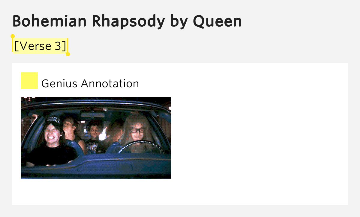 """queen s bohemian rhapsody correlates to albert In november 1991, after freddie mercury's untimely death, """"bohemian rhapsody"""" reappeared on the charts in the uk and achieved the rare distinction of being a number one twice in the us, thanks to its appearance in the hit movie wayne's world , it also jumped back onto the charts and reignited interest in queen."""