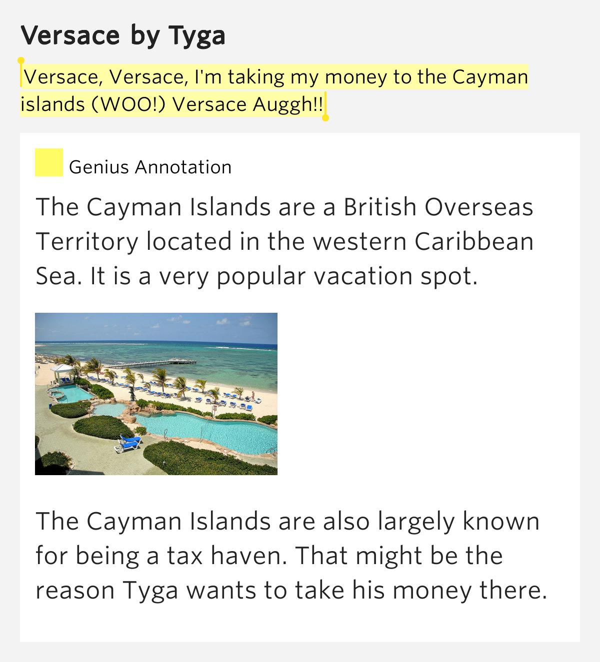 Cayman Islands Rap Lyrics