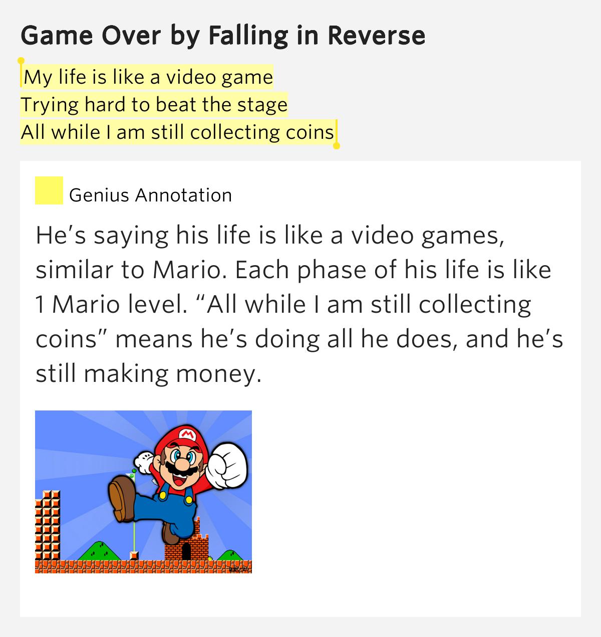 Game life lyrics