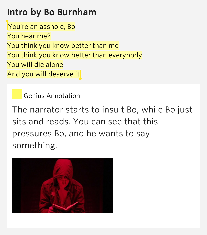 hes an asshole lyric