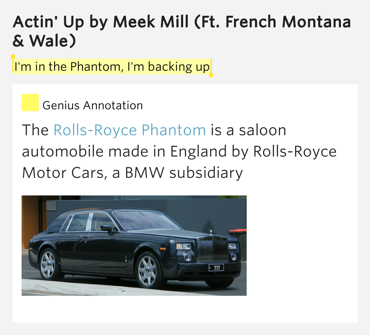 Wale & Meek Mill:Actin' Up Lyrics | LyricWiki | FANDOM ...