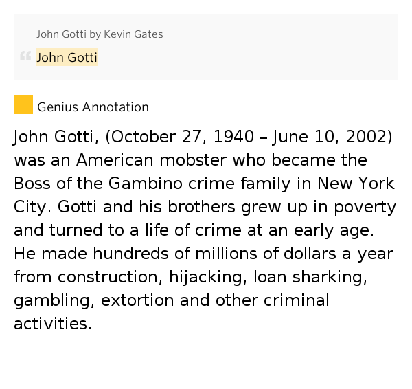 the early and criminal life of john gotti