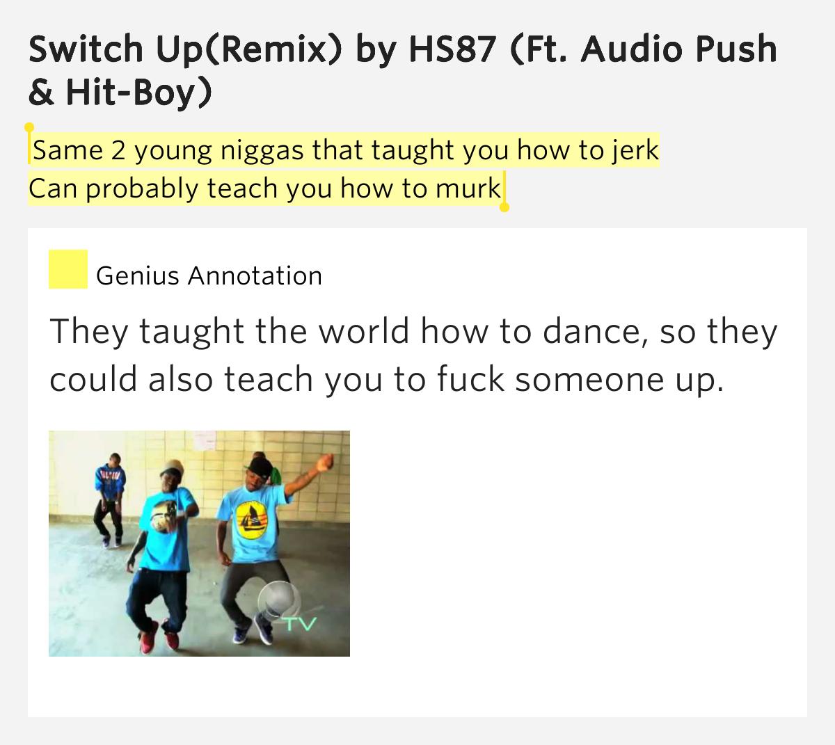 Audio Push :