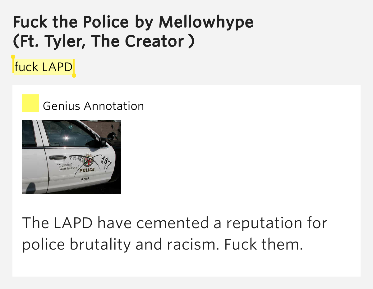 Fuck The Lapd 51