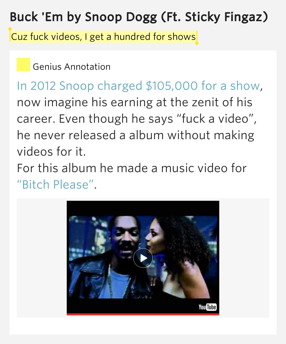 Fuck Em Snoop 119