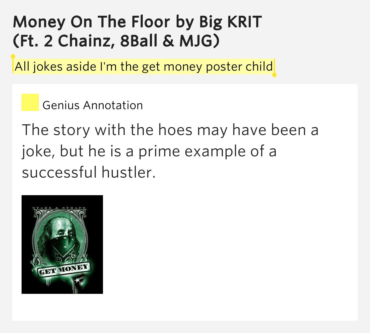 Big K.R.I.T. - Money On The Floor Lyrics