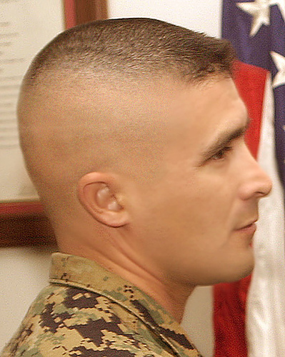Фото военные стрижки