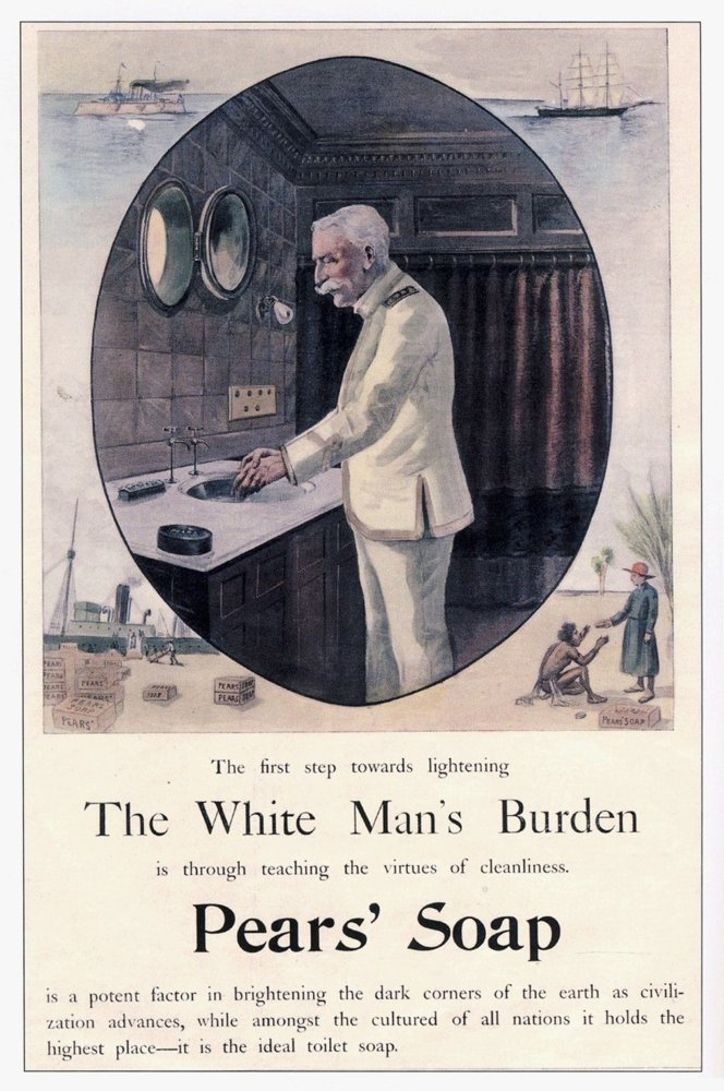 "an analysis of rudyard kiplings poem the white mans burden Kipling's ""white man's burden,"" subtitled ""the united states and the  the year  kipling's poem appeared, 1899, marked not only the end of the  as hobsbawm  tells us: ""when the writer rudyard kipling, the bard of the."