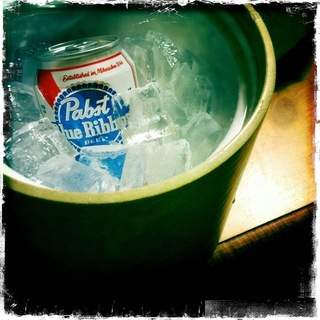 of cold Pabst Blue Ribbon   Pabst Blue Ribbon On Ice Lyrics