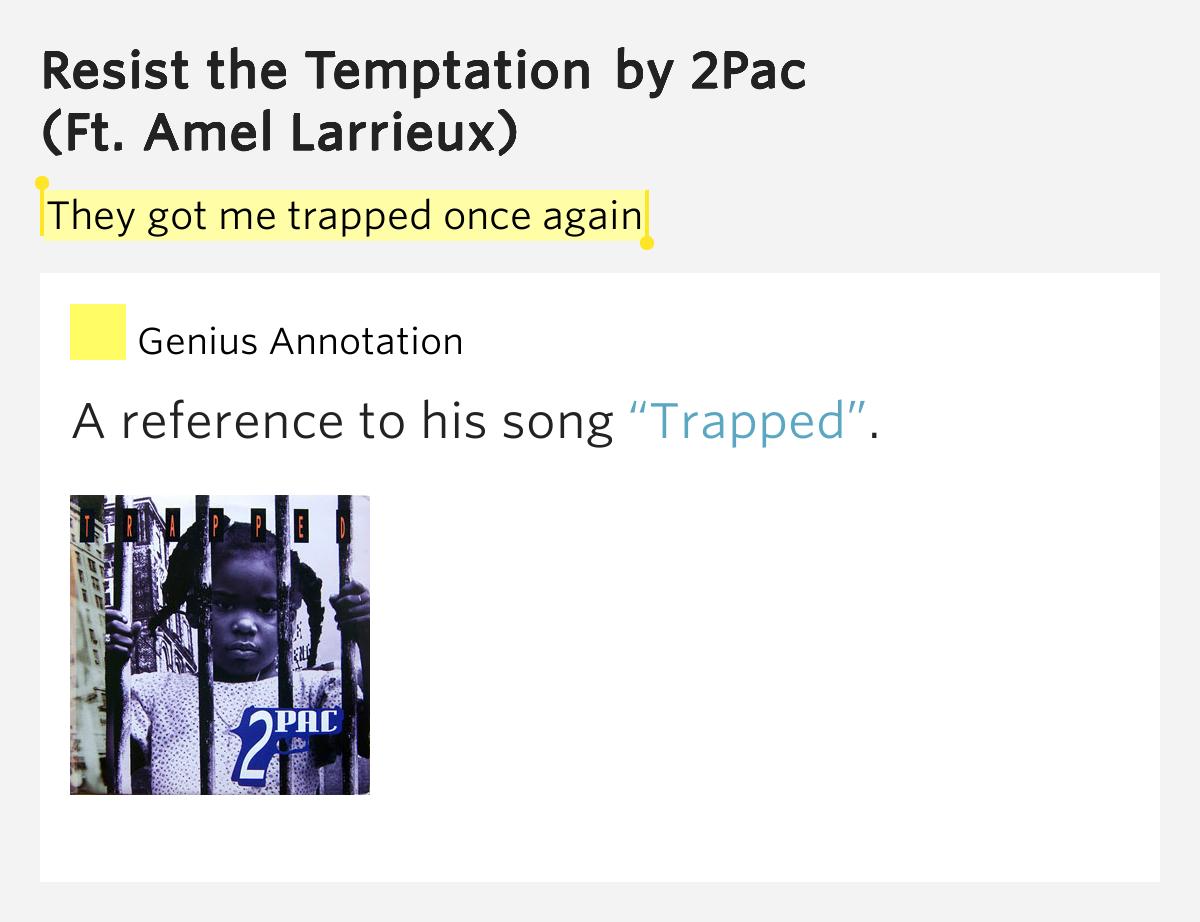 2PAC - TEMPTATIONS LYRICS