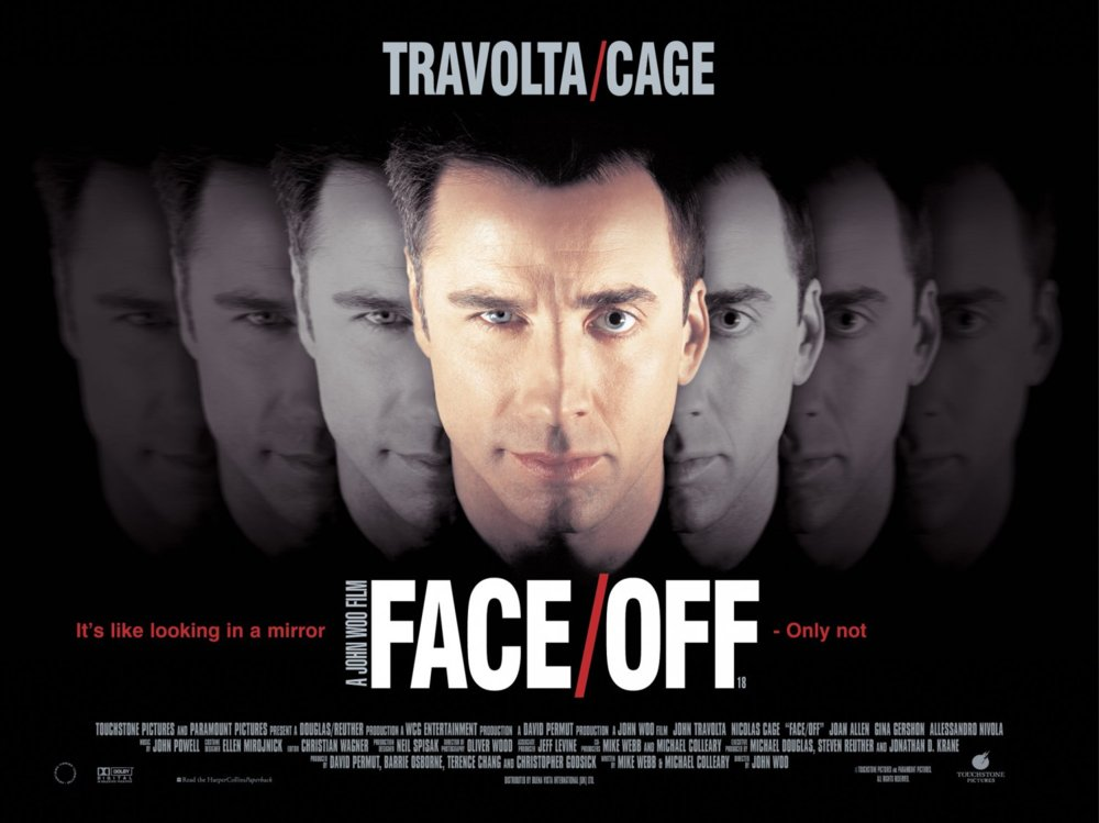 Nicolas Cage Face Off No Face Integrate the suggestion into