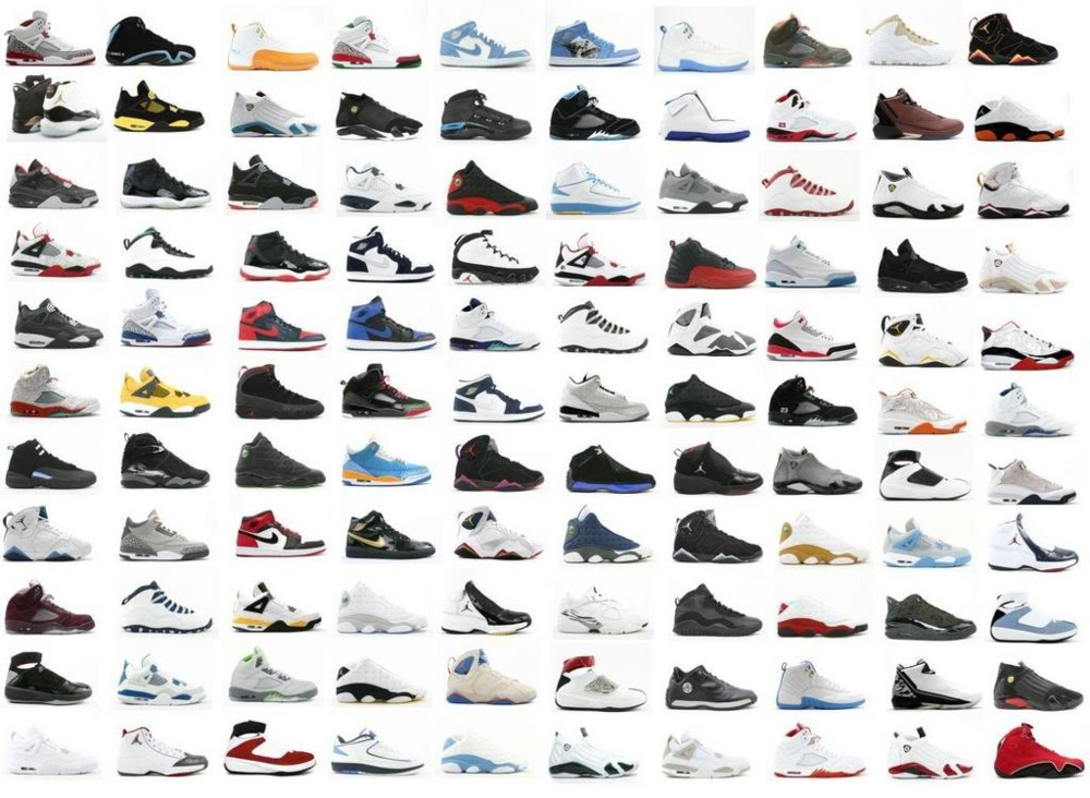 all michael jordan shoes ever made