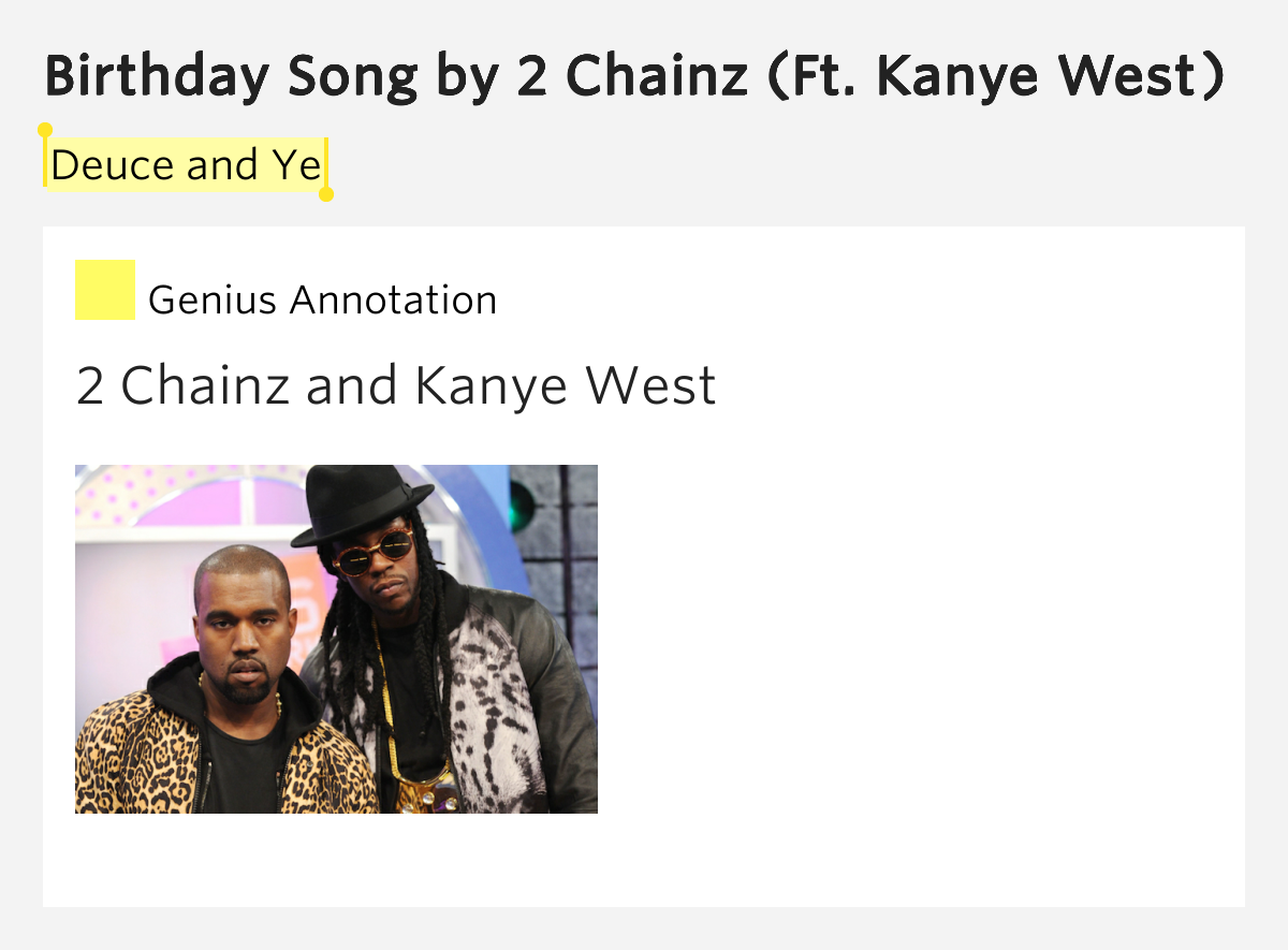 2 Chainz:Birthday Song Lyrics - FANDOM powered by Wikia