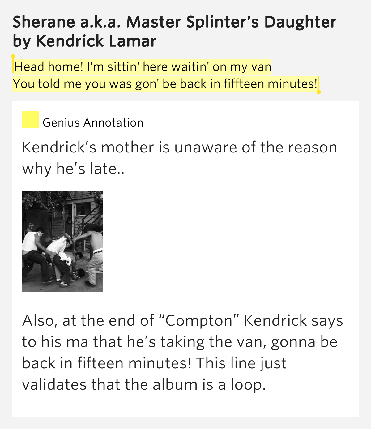 kendrick lamar dating sherane Kendrick lamar has a new girlfriend, woot woot  no more sherane click to expand may 11,  keep being a captain to kendrick lamar.