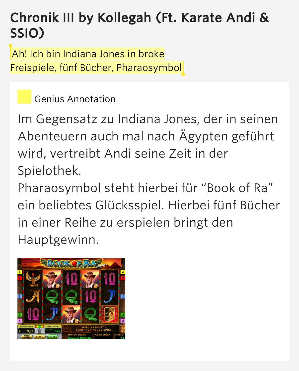 book of ra 5 bücher in einer reihe