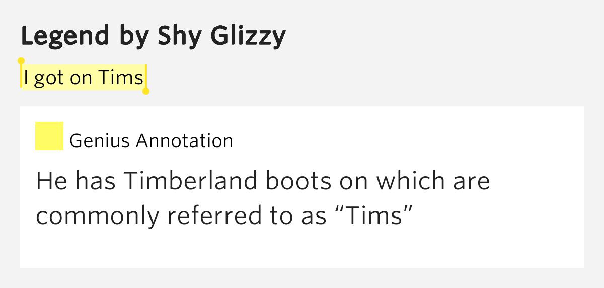 timberland rap quotes