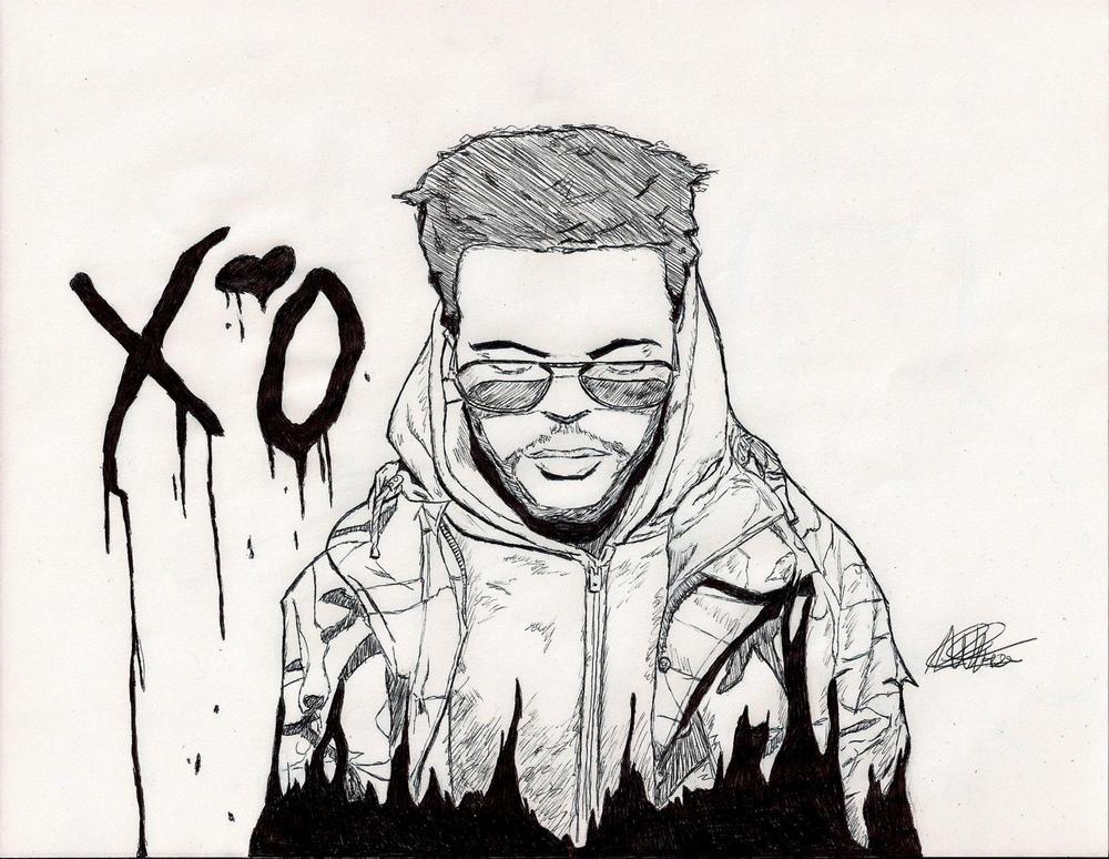 The Weeknd  his label XO Xo The Weeknd Smoke