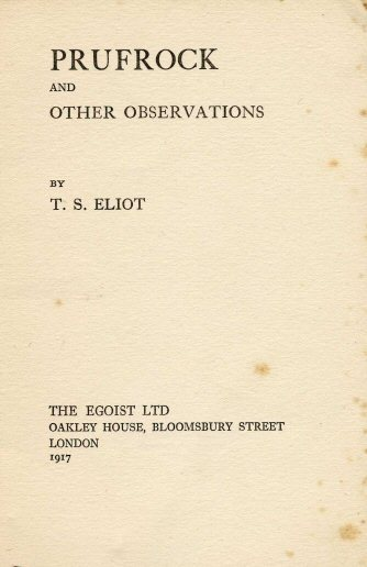 a poem analysis of the love song of j alfred prufrock by t s eliot Brief summary of the poem the love song of j alfred prufrock.