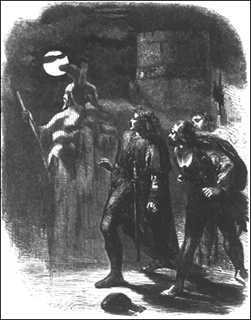 shakespeares definition of a ghost We are in denmark, and hamlet's father, the king, is now dead hamlet's uncle  has married hamlet's mother, and become the new king a ghost appears, saying .