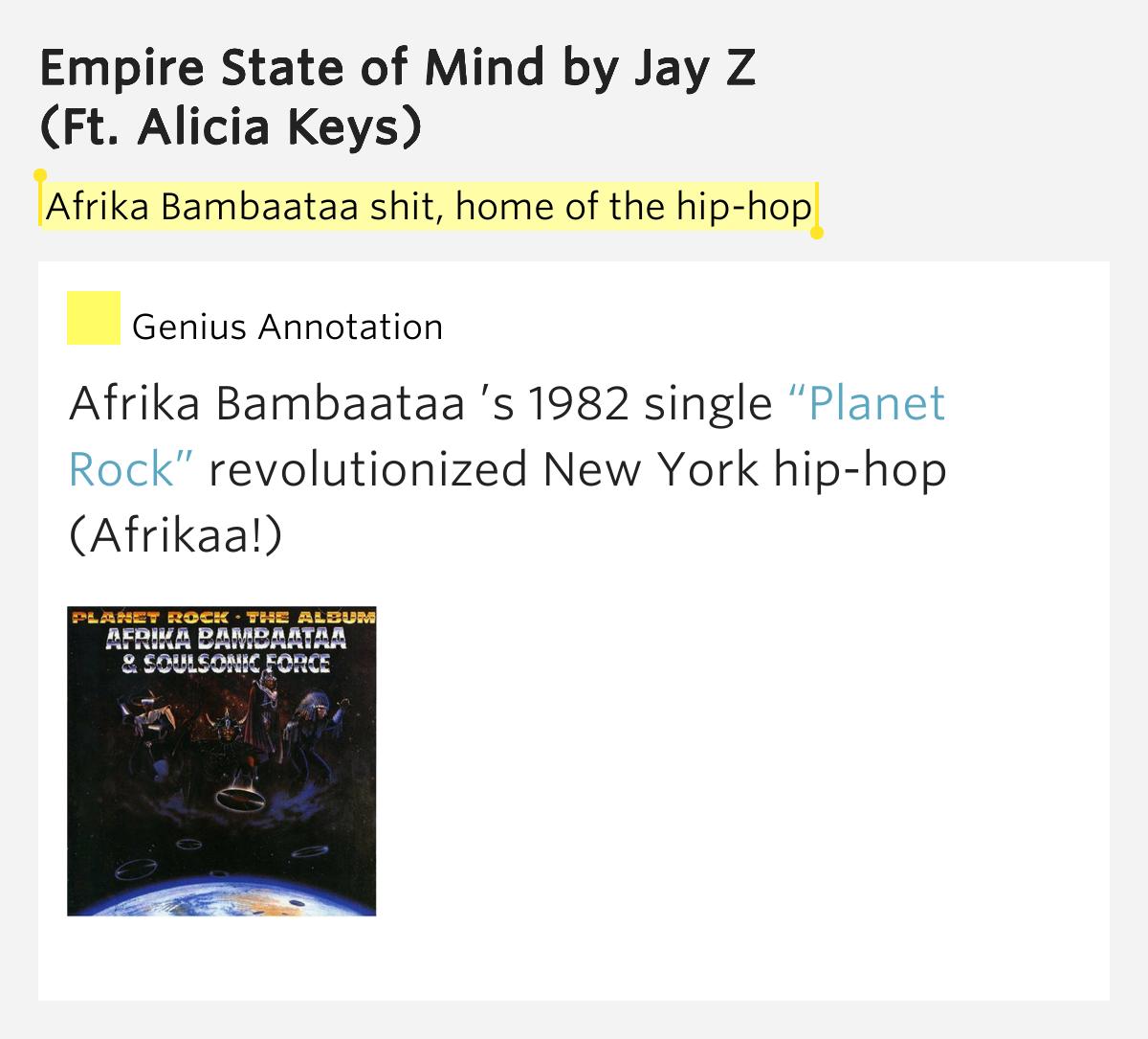 Alicia Keys - Empire State Of Mind Lyrics | MetroLyrics