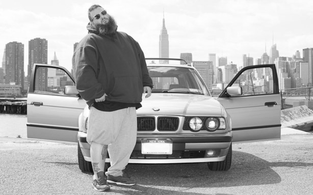 photo of Action Bronson BMW - car