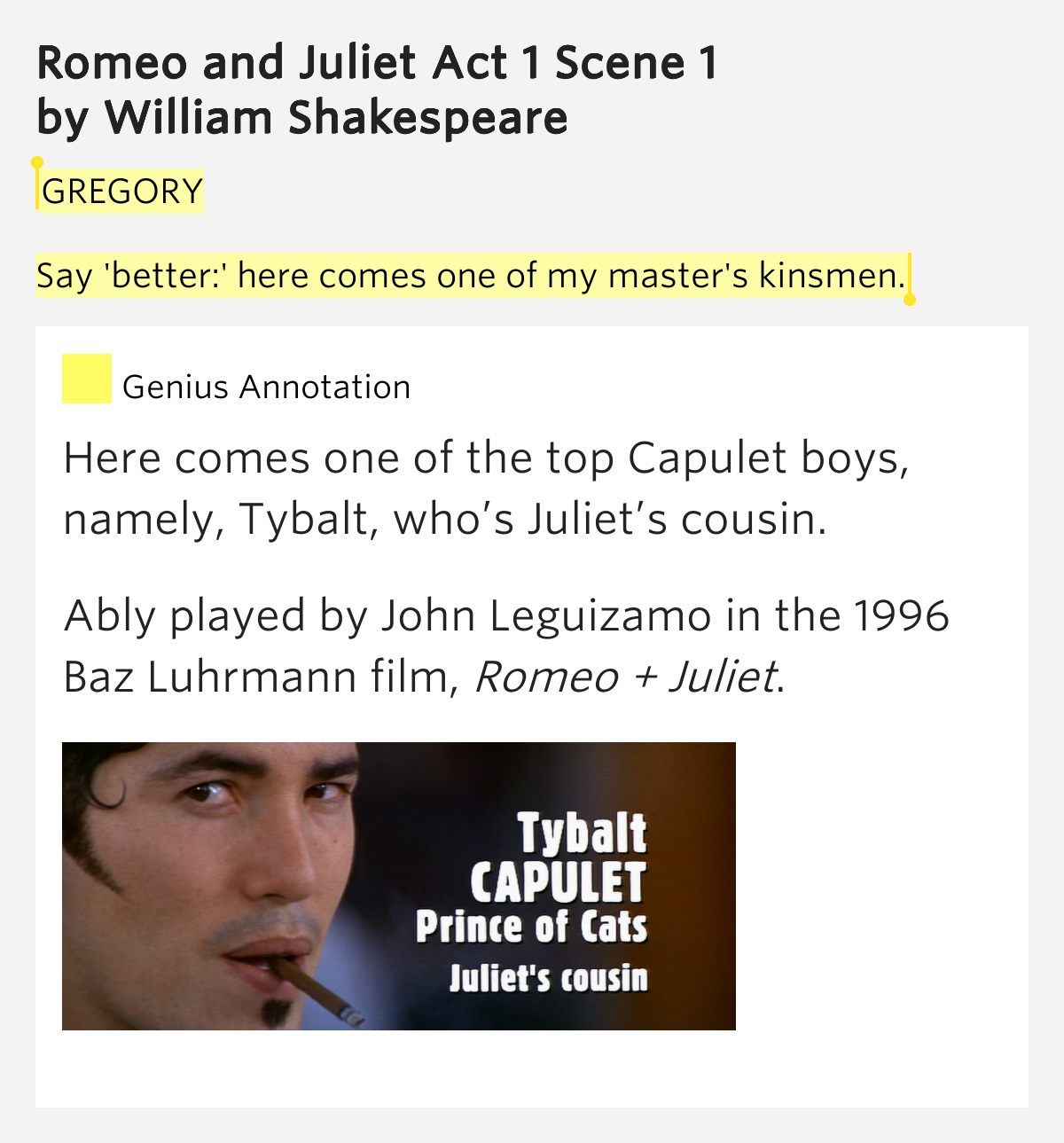 baz lurhmann interpretation of romeo and Analysis of baz luhrmann's use of cinematic devices in the opening scenes of william shakespeare's romeo and juliet baz luhrmann's 1997 film version of romeo and juliet is updated to the modern age while still retaining the original dialogue.