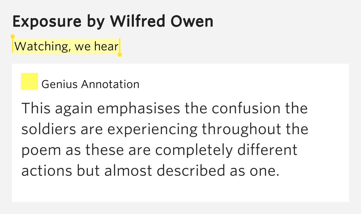 essay on wilfred owen poems