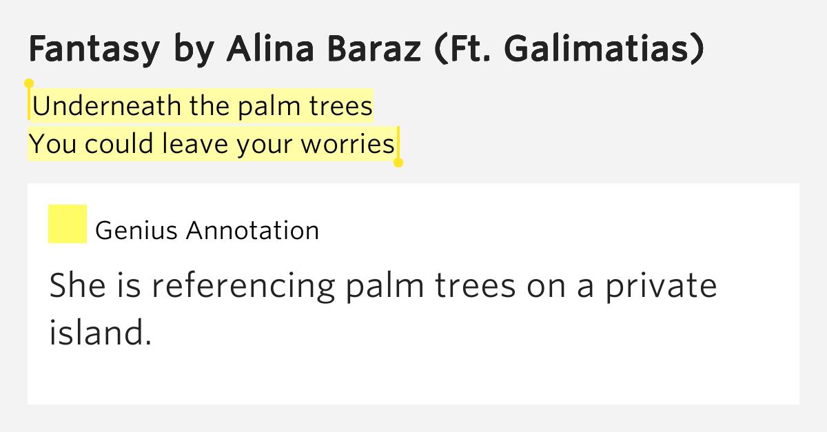 your fantasy lyrics: