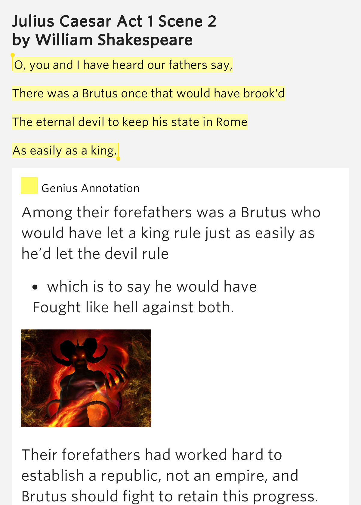 julius caesar act 1 breakdown summary Need help with act 1, scene 1 in william shakespeare's julius caesar check out our revolutionary side-by-side summary and analysis.