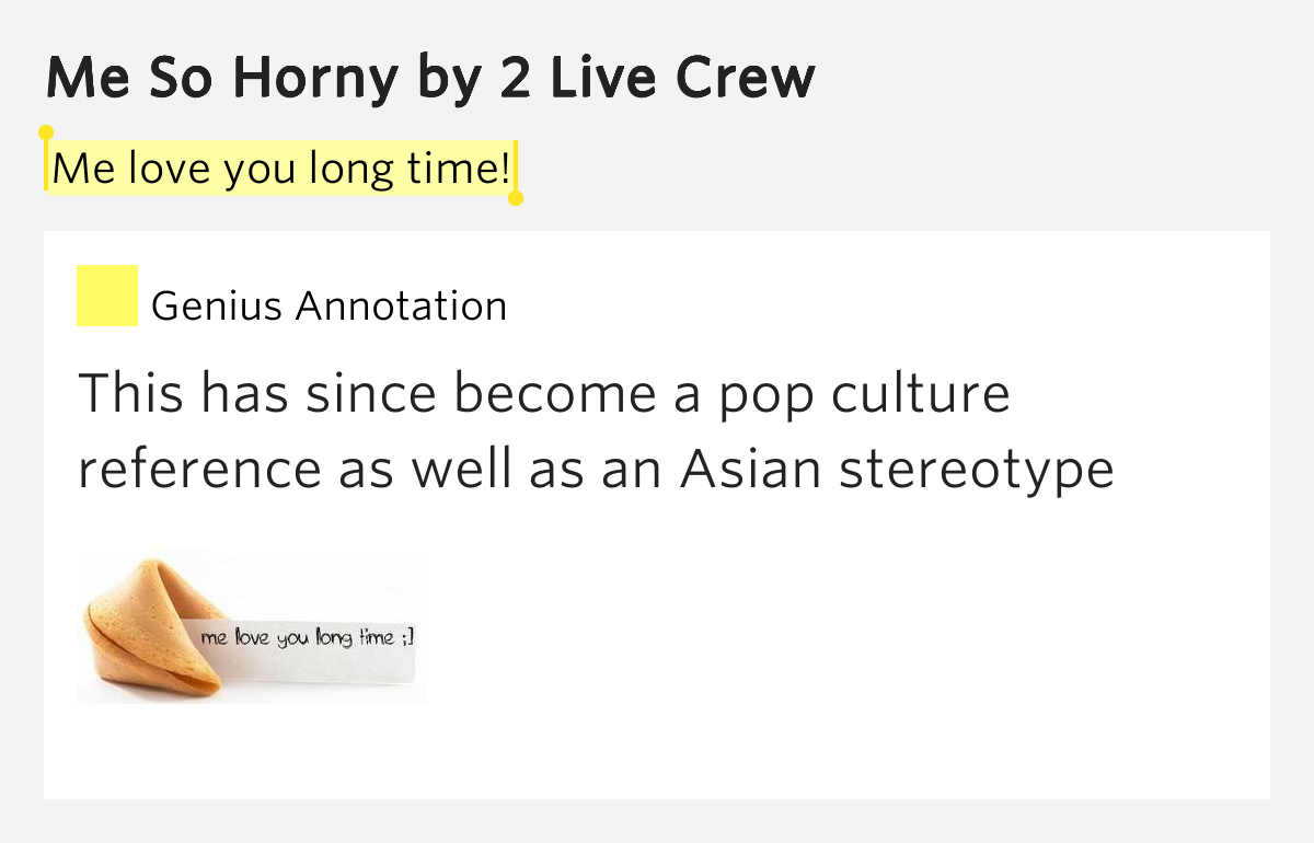 lyrics live crew bill horny