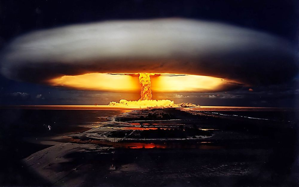 a description of the nuclear bomb as the most destructive weapon Weapons basics introduction basic terms followed by an explanation of how a nuclear weapon works and a description of the immediate damage caused by a nuclear explosion hydrogen bomb: a nuclear weapon that derives its energy from the fusion of hydrogen.