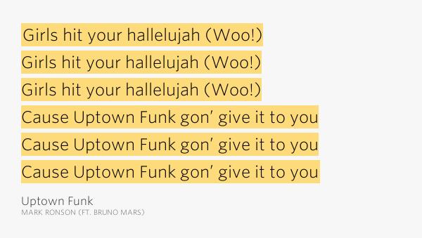 Mark Ronson - Uptown Funk lyrics + Spanish translation