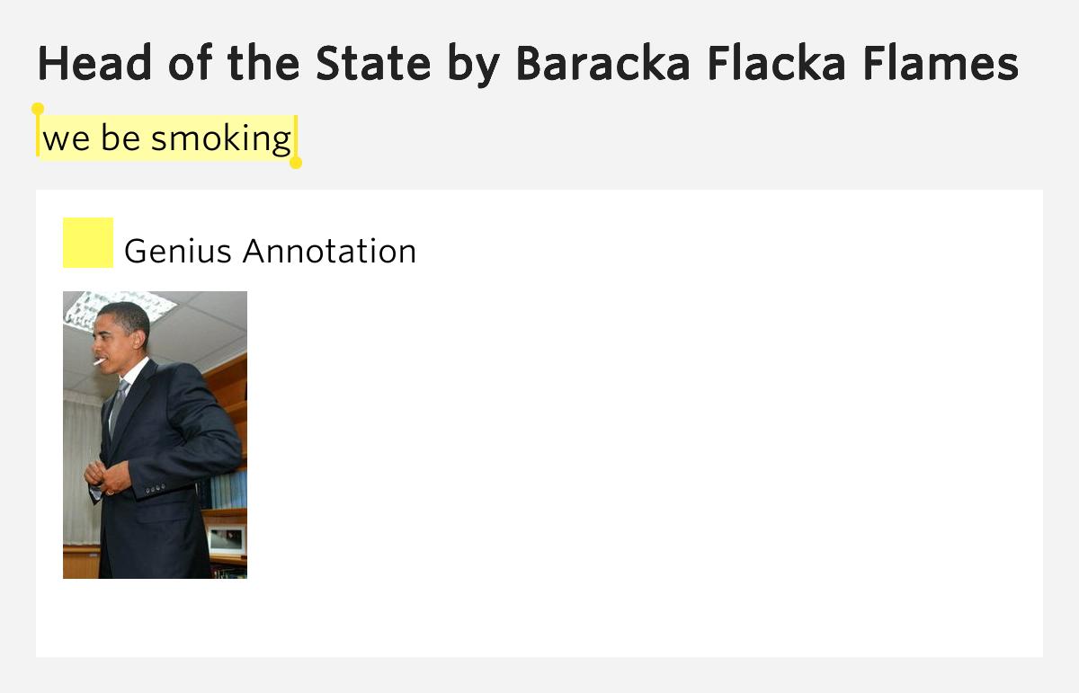 Baracka Flacka Flames - Head of The State - YouTube