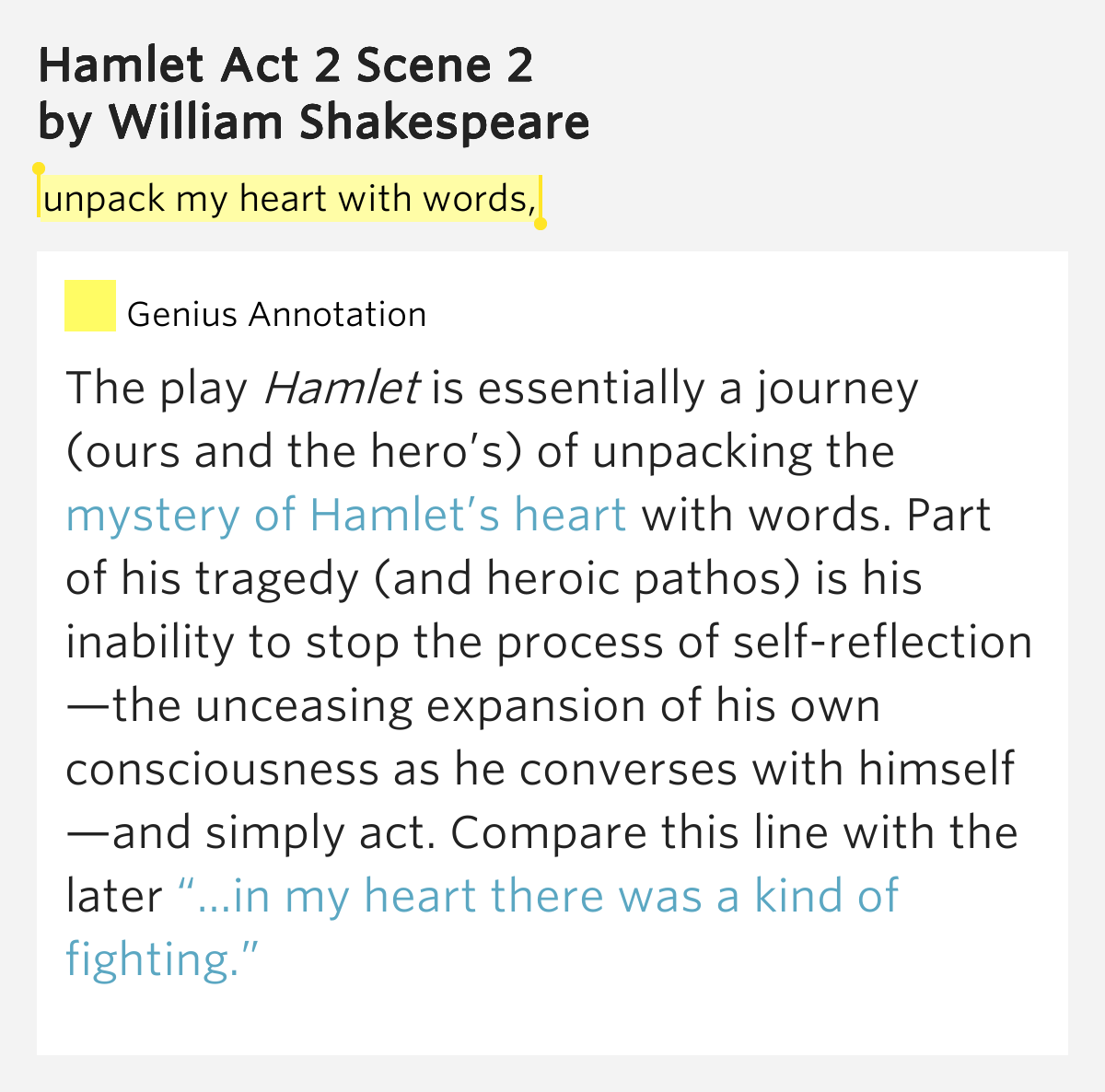 a comparison of hamlet and his foils in the play hamlet by william shakespeare The writers of hamlet and the wars, william shakespeare and timothy findley respectively, transform their main characters from the expected war hero or powerful prince into that of an antihero william shakespeare presents hamlet as a prince bent on revenge but unwilling to do it.