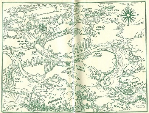 Free coloring pages of wind in the willows for Wind in the willows coloring pages
