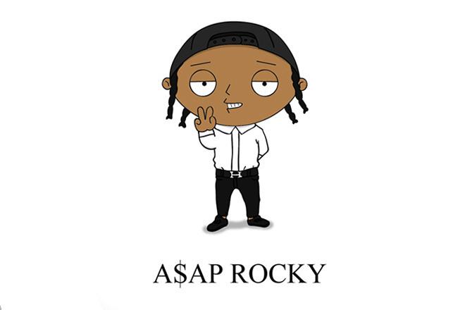 Cartoon Characters As Rappers : Hip hop artists as cartoon characters genius