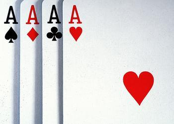 What beats 4 aces in texas holdem