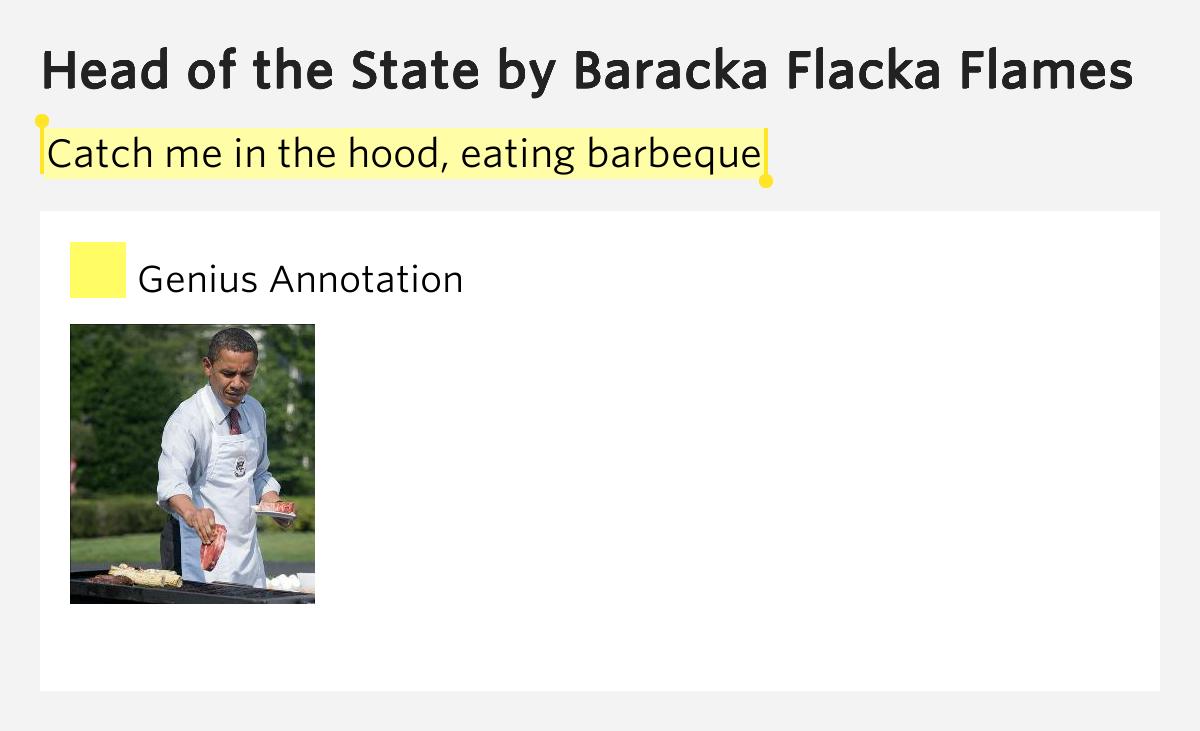Baraka flocka flame- Head of the state (Hard in the paint ...