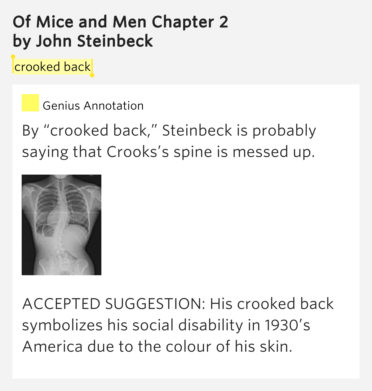 of mice and men chapter