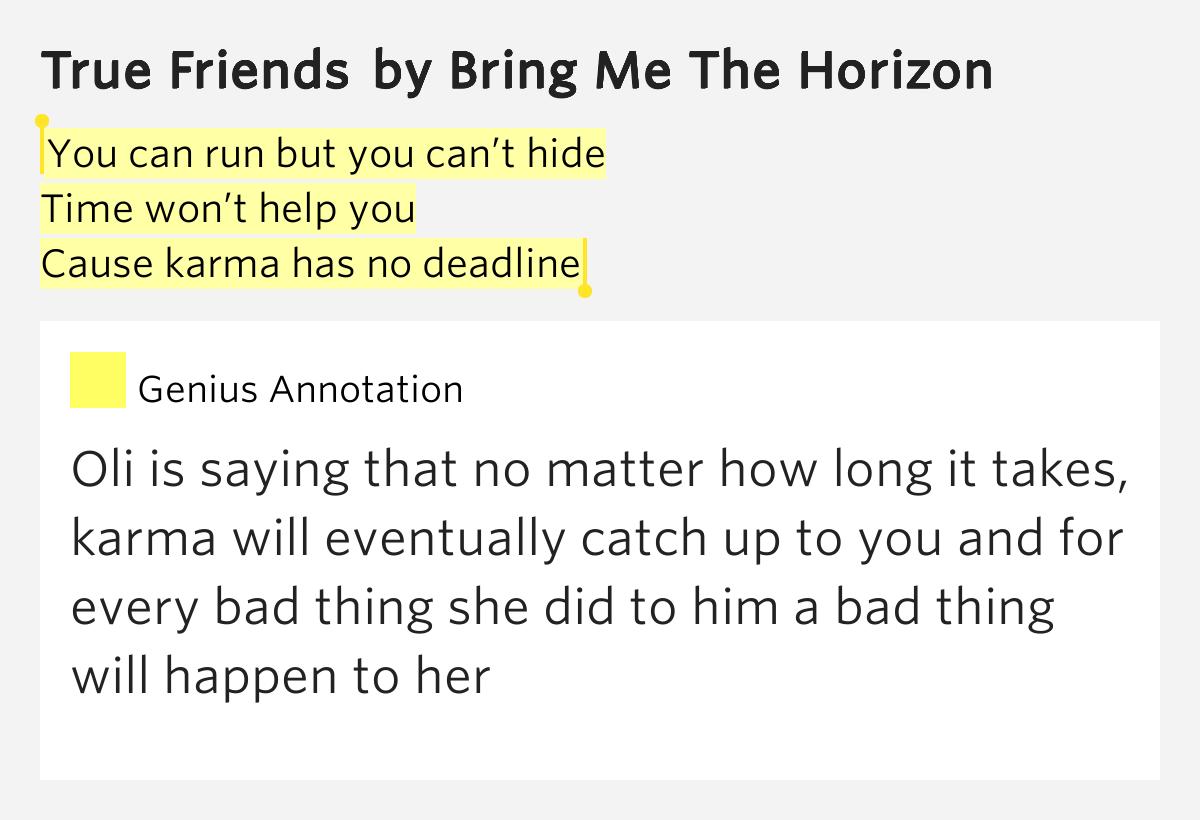you can run lyrics: