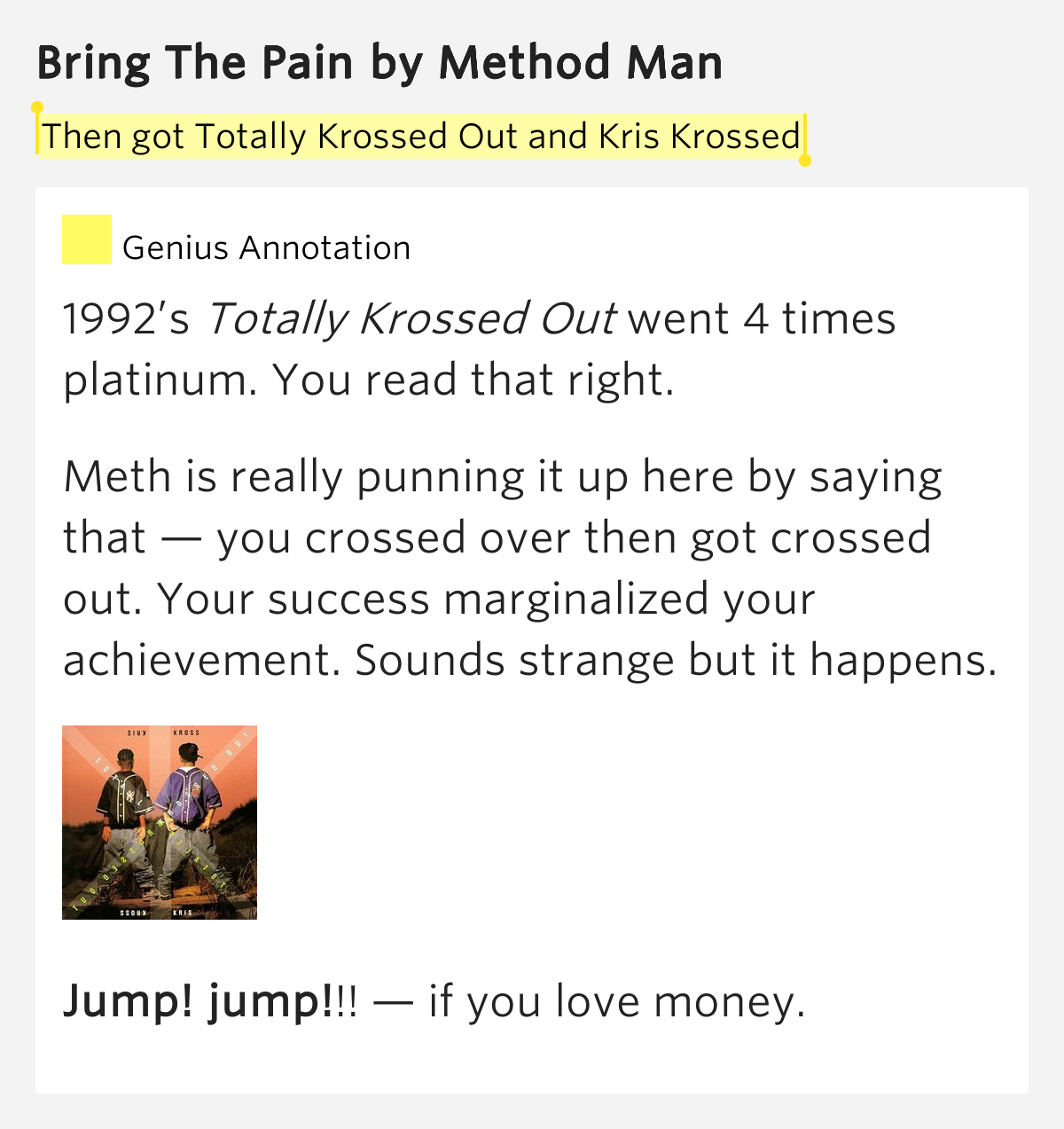 Method Man – Bring The Pain Lyrics | Genius Lyrics