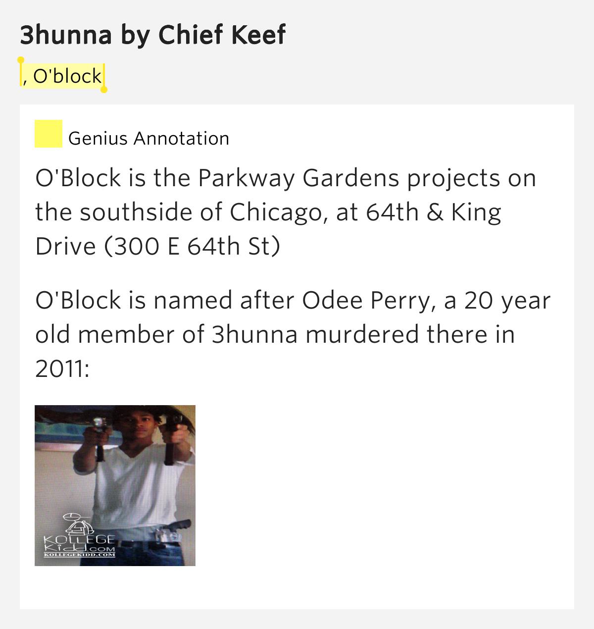 Chief Keef – 3hunna Lyrics   Genius Lyrics
