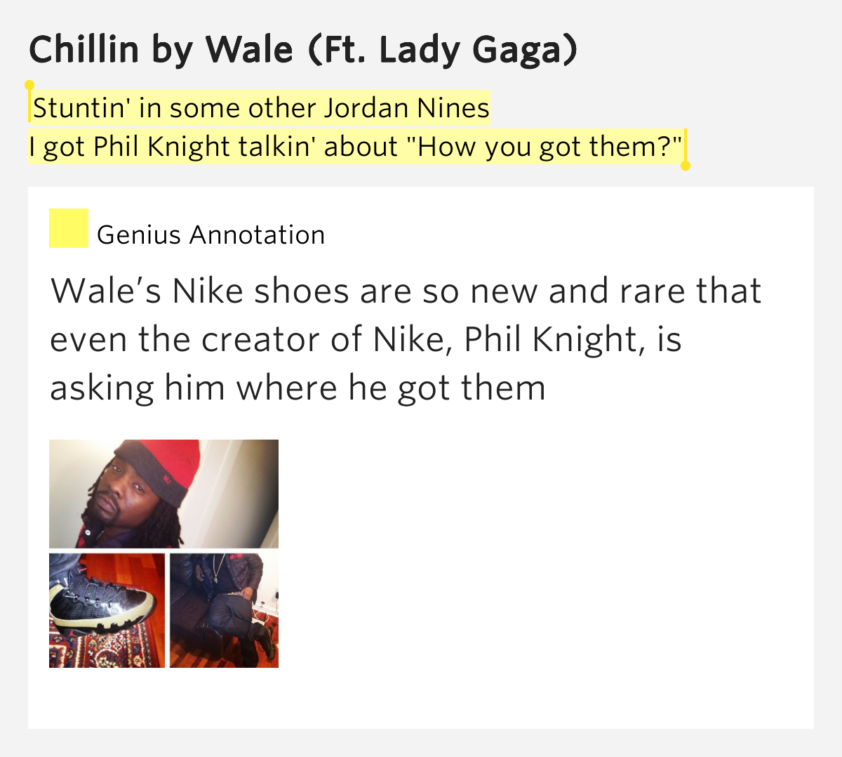 Kanye You Got New Shoes Lyrics