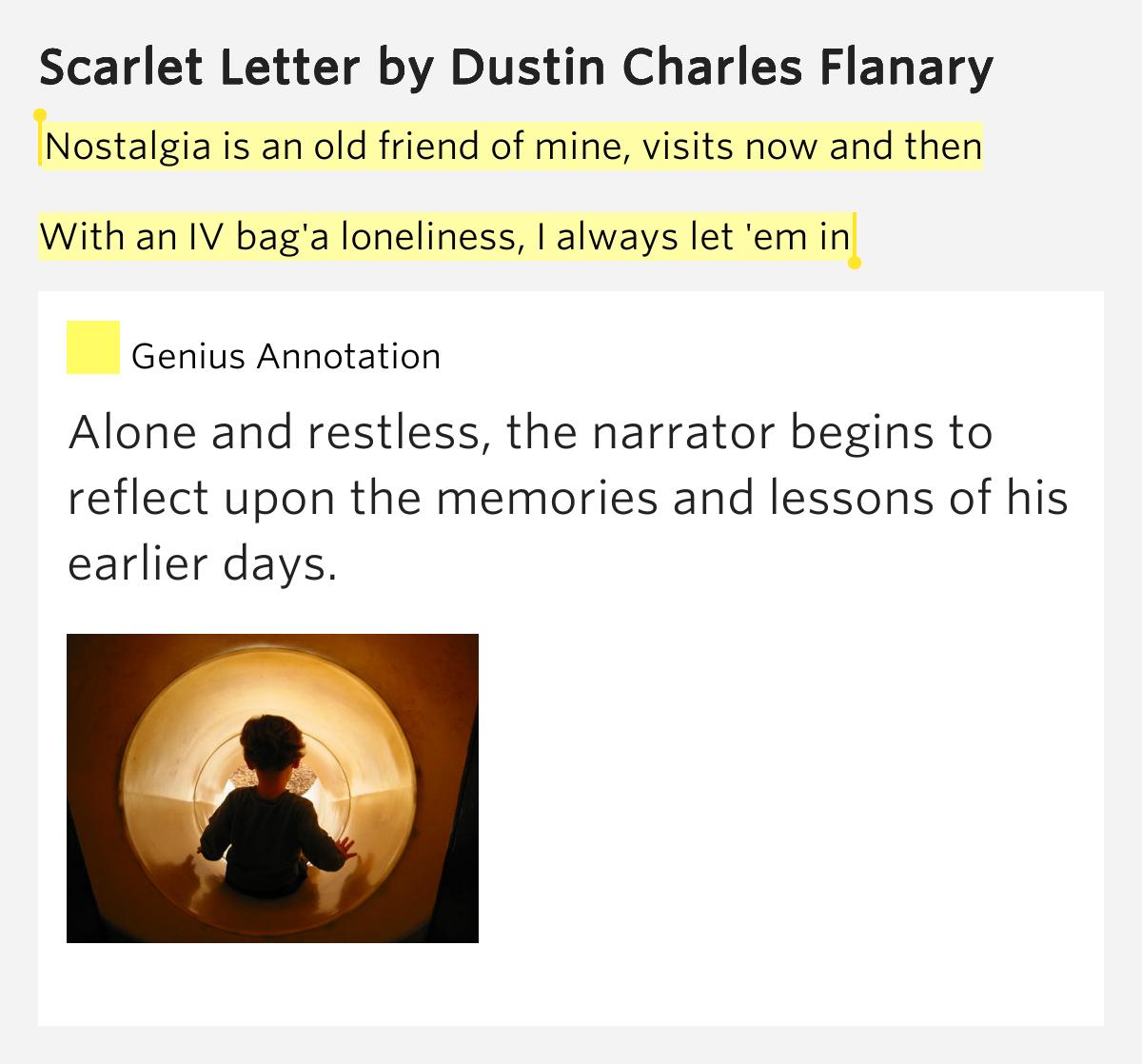Scarlet Letter Narrator