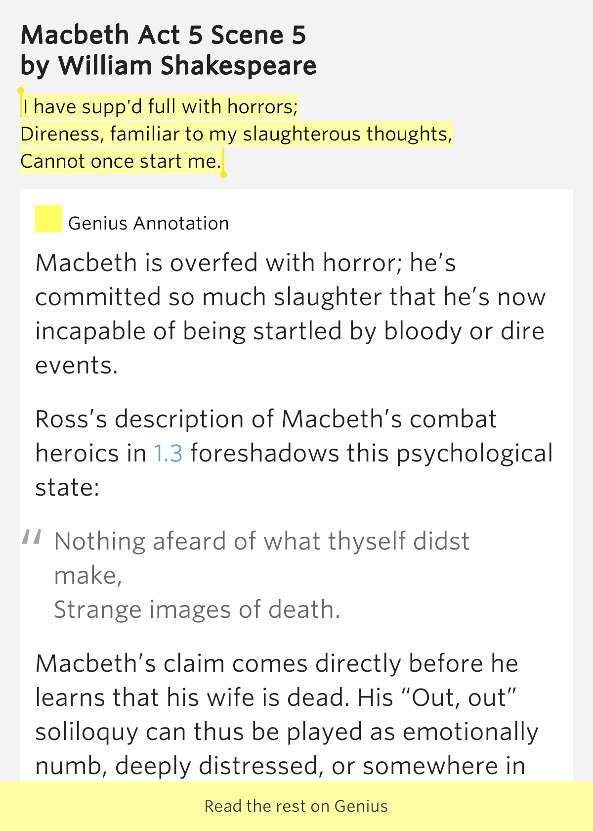 contradiction in act 1 of macbeth Macbeth act 1 summary explained key quotes are kept short with easy to understand analysis english subtitles and animated characters reinforce comprehensio.