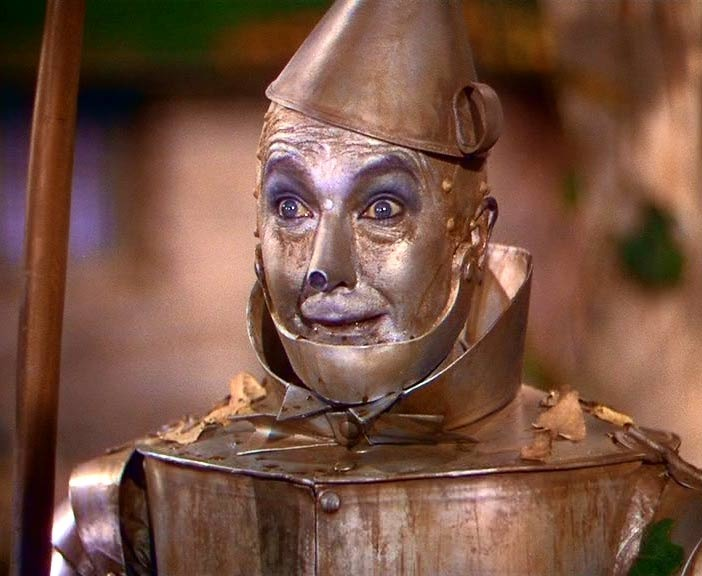 Like the tin man steel on me without a heart look me in for How to make a tin man out of cans